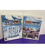 Lot of 2 Wii Games Summer Athletics and Winter Sports Ultimate Challenge - $14.84