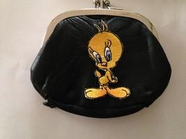 Tweety Bird Design Leather Change Purse Wallet - $22.44