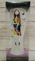 Disney Nightmare Before Christmas Sally Tall Frosted Glass Pilsner Burton 2018 - $19.39