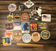 huge lot of 1980's beer and drink coasters from Ireland - $18.66