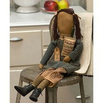 """Primitive Country JODI BAKER CHEF DOLL with  25"""" Collectible Farmhouse K... - $36.88"""