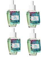 4 Bath & Body Works Tiki Beach Wallflower Fragrance Refill Bulb - $32.50