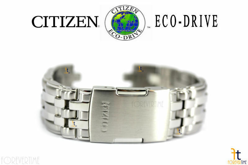 Primary image for Citizen Eco-Drive Original E111-S068967 Edelstahl Armbanduhr Band Armband