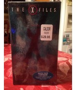 The X-Files 6 Episodes 3 VHS Tapes Box Set Season 2 Very Rare Factory Se... - $17.99