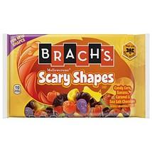 Brach's 1 bag Mellowcreme Scary Shapes - Pumpkin, Bat, Moon, Cat, Skull,... - $13.09