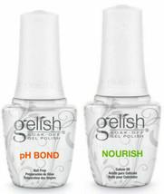 Harmony Gelish- pH Bond DEHYDRATOR (Prep)+ NOURISH Cuticle Oil .5oz/15ml... - $10.57