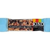 KIND Bars, Blueberry Vanilla & Cashew, Gluten Free, 1.4 Ounce Bars, 12 C... - $27.47