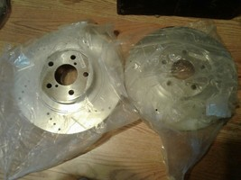 Power Stop JBR1165XL & JBR1165XR, Front Driver & Pass,, Drilled & Slotted Rotor