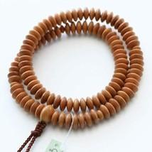 Tendai Buddhist Rosary Mala Juzu Prayer beads Japan Kyoto Plum wood Japan - $106.91