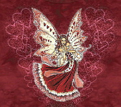 Hearts Red Fairy Fantasy Adult baby Doll Shirt NEW, SM - €11,83 EUR