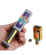 Battery Tester Universal Volt Power Supply Capacity Checker Measuring To... - $15.83