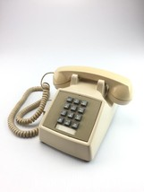 Vintage Bell Systems Western Electric cream touch tone phone 2500MM - $17.81