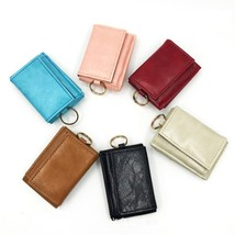 Anti Rfid Small Wallets Fashion Hasp Leather Ladies Wallet Women Pu Keyc... - $4.30