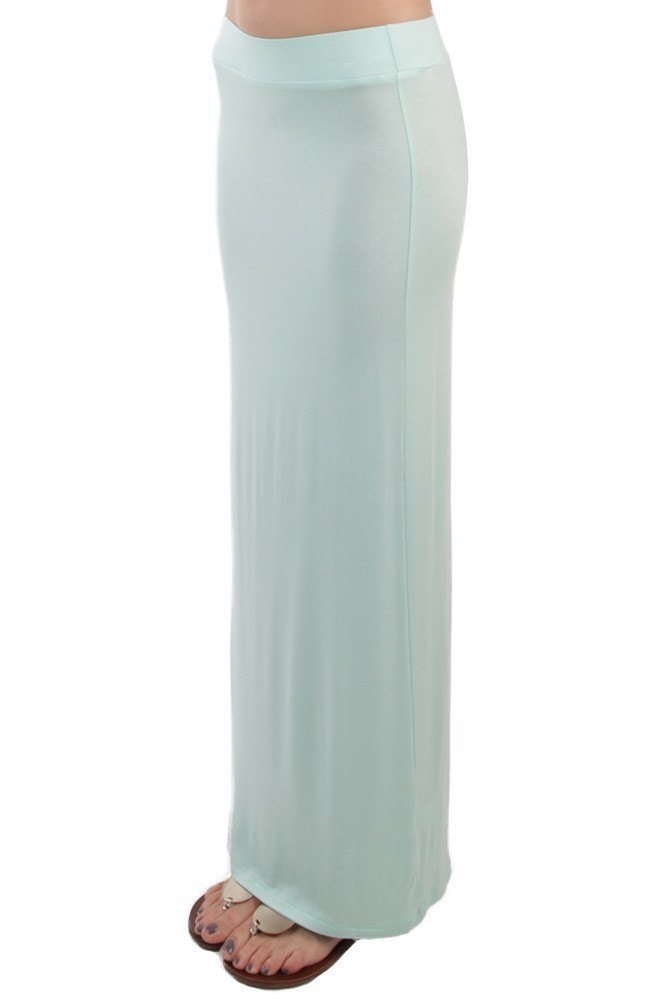 Mint Fitted Maxi Skirt ! In Time For Spring ! Only $59.00 !