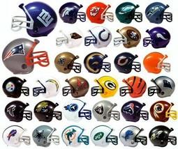 Licensed NFL Mini Football Helmet Pencil Toppers - Pick Your Team! - $0.92+