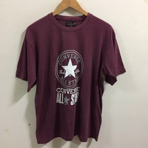 Converse Logo T Shirt L Large  S/s Apparel - $24.74