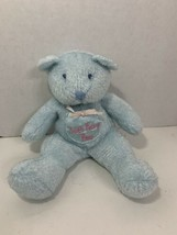 Enesco Tooth Fairy Bear small blue plush beanbag teddy baby teeth pocket... - $9.89