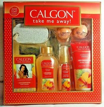 Calgon Take Me Away Hawaiian Ginger Boxed Gift Set 7 Piece BRAND NEW PAC... - $24.74
