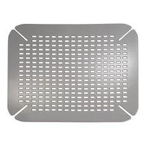 InterDesign Contour Kitchen Sink Protector Mat, Graphite - $12.64