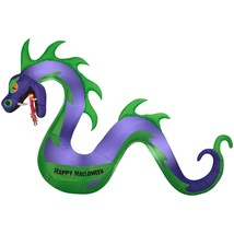 Airblown Inflatable-Serpent w/ Flaming Mouth by Gemmy Industries - $100.80