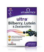 Ultra Bilberry, Lutein & Zeaxanthin (Natural source Extracts) 30 tablets - $11.63