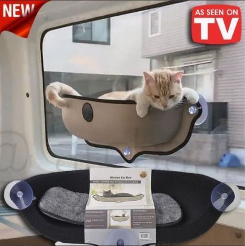 Tremendous Cat Hammock Bed Hanging Cage Window Soft And 50 Similar Items Evergreenethics Interior Chair Design Evergreenethicsorg