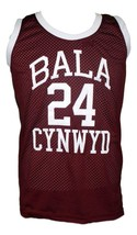 Kobe Bryant Bala Cynwyd Middle School Basketball Jersey New Maroon Any Size image 4