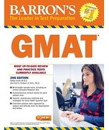 Barron's GMAT with Online Test [Paperback] Umar M.B.A., Bobby and Pyrdum... - $46.53