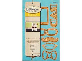 Spellbinders D-Lites Hipster 2 Die Set #S2-213