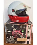 RARE Vintage 1986 BELL Pro Club Dealer Only M-2 Motorcycle Racing Helmet... - $370.74