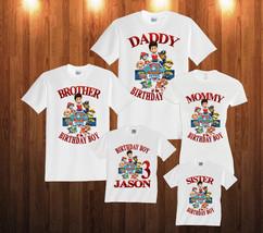 Personalized Custom Paw Patrol shirt Birthday T-Shirt Family Party  p5 - $14.95+