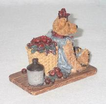 Boyd Bearstone Resin Bears Bailey In The Orchard Figurine #2006 18E NEW IN BOX image 3