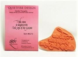 QUIETFIRE DESIGN Sentiment Stamp, #6270