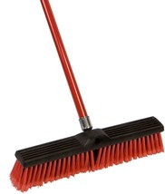 Large Multi-Surface Push Broom with 49'' Alloy Handle - $18.80+
