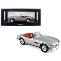 1956 BMW 507 Silver Metallic with Red Interior 1/18 Diecast Model Car by... - $105.30