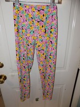 Lularoe Candy Hearts W/Sayings Leggings Size O/S Women's EUC - $20.00
