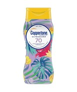 Coppertone ULTRA GUARD Sunscreen Lotion Broad Spectrum SPF 70 8 Fluid Ou... - $8.16