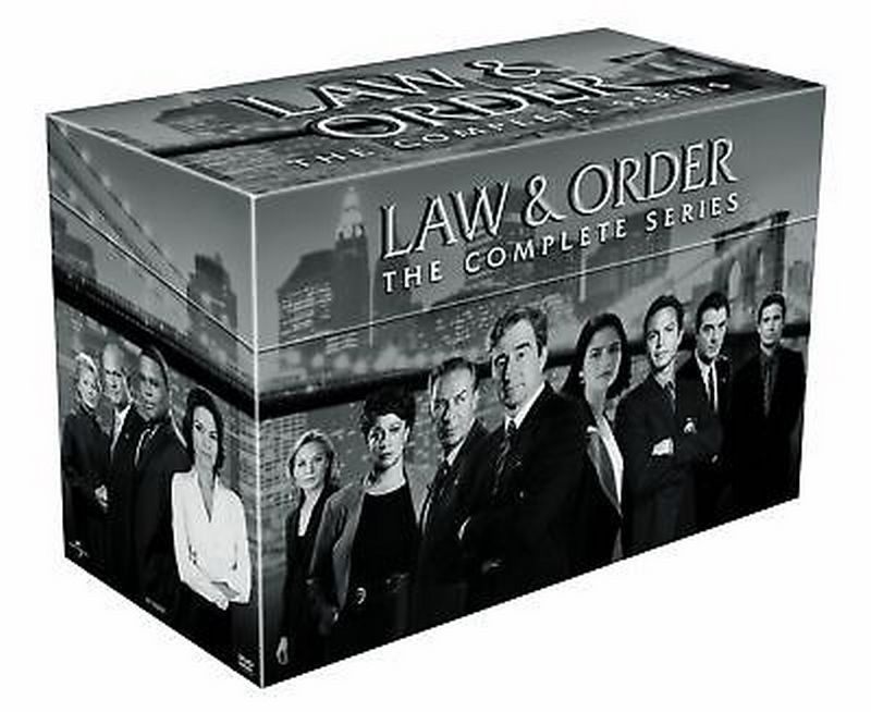 Law and Order: The Complete TV Series Seasons 1-20 DVD Set [New]