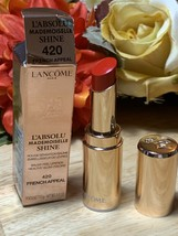 LANCOME ROUGE MADEMOISELLE SHINE 420 FRENCH APPEAL BNIB - $24.74