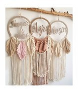 Personalized Macrame, Boho Macrame, Macrame, Free name request, wall dec... - £66.64 GBP