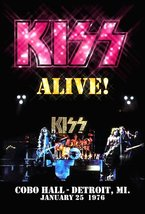 KISS Rock Band Cobo Hall January 25th 1976 ALIVE Stand-Up Display - Paul... - $15.99
