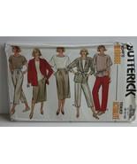Butterick 3178 Sewing Pattern Jacket Pants Skirt Top Size 8 10 12 - $14.50