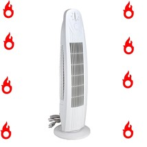 Oscillating 29 Inch 3 Speed Tower Fan for Home or Office, Quiet and Powe... - $39.59