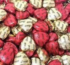 Valentines Reese's Milk Chocolate Peanut Butter Hearts Candy, Gold Red Wrap - $19.39+