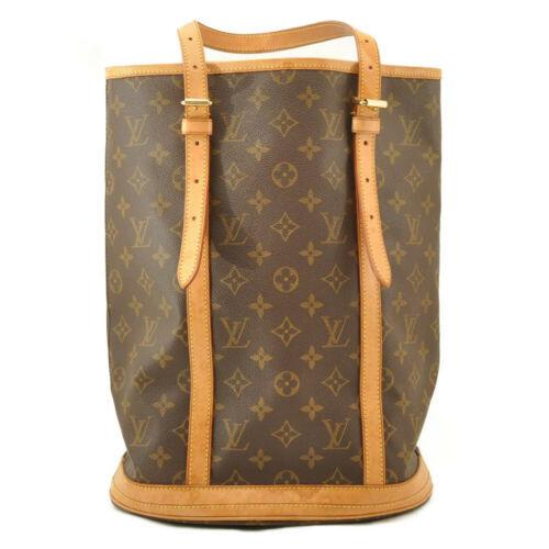 LOUIS VUITTON Monogram Bucket GM Shoulder Bag M42236 Auth 10719 **No Sticky image 3
