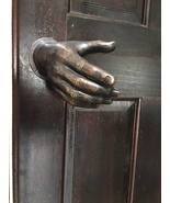 DOOR-HANDLE-BRONZE-HAND-MADE-SCULPTURE-ART-EXTERIOR-INTERIOR-HOME-... - $650.00