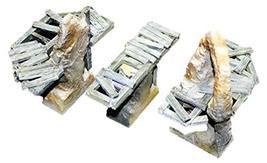 Secret Weapon 28mm Scale Terrain 3 Piece Stone & Wood Bridge