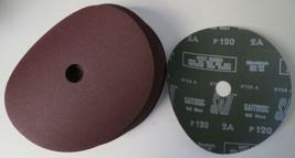 """Sait 50037 7"""" x 7/8"""" 120 Grit Aluminum Oxide Fiber Sanding Discs 25 Pack - $29.70"""