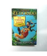 Dreamworks The Road to El Dorado 12/12/00 VHS/DVD Movie Release Promo Pi... - $7.99
