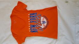 New York Mets Women's V-Neck T-Shirt, Gray, Small - $11.87